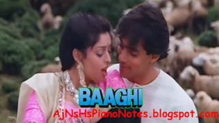 Har Kasam Se Badi Hai Sargam Piano Notes From Baaghi
