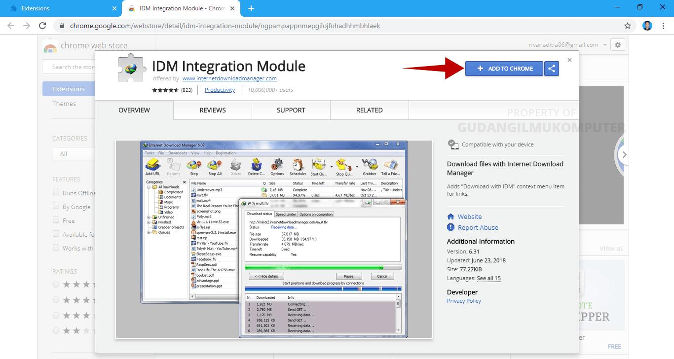 Cara Mengatasi IDM yang Tidak Bisa Digunakan untuk Download File