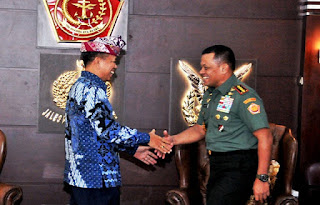 Panglima TNI Terima Kunjungan Panitia Pusat Hari Raya Nyepi Nasional