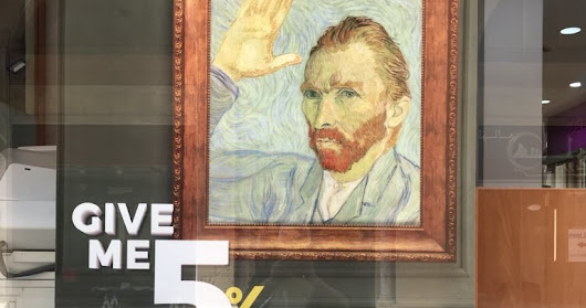 Byblos Bank should have left Van Gogh alone