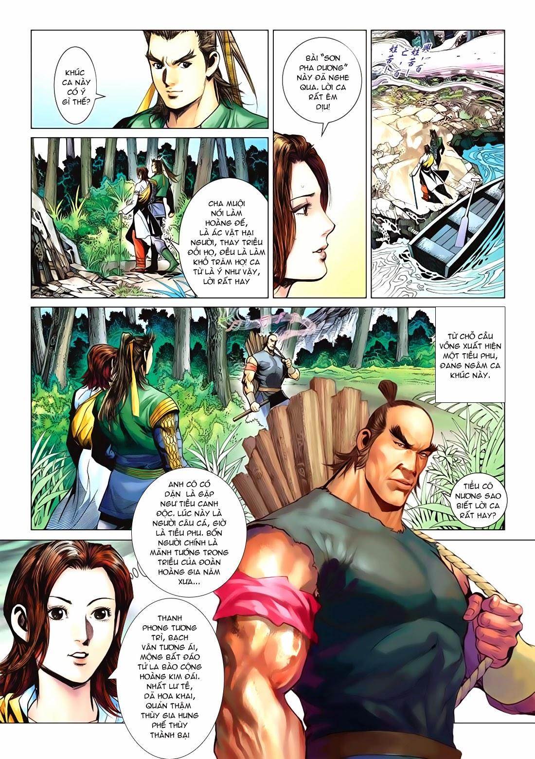 Anh Hùng Xạ Điêu anh hùng xạ đêu chap 72: ngư tiều canh độc trang 18