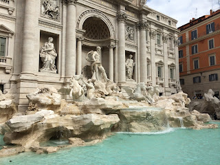 The Trevi Fountain was opened by Pope Clement XIII
