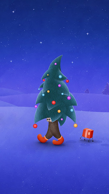 merry xmas 2016 hd mobile wallpaper download free