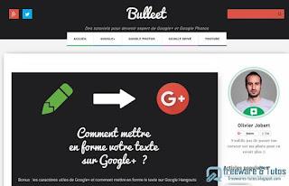 Bulleet - pour devenir un expert des outils Google