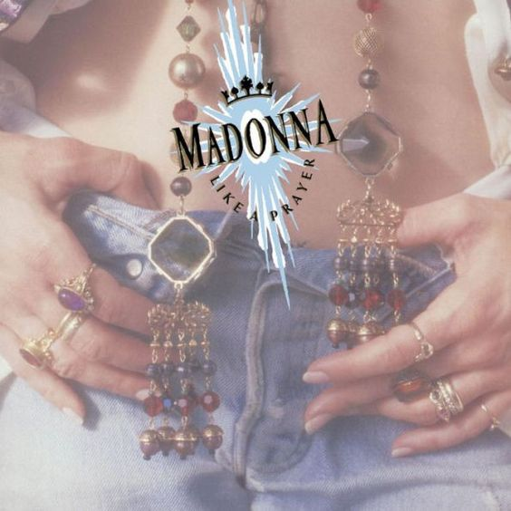 Madonna Like a Prayer album 1989
