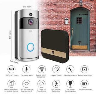 kit video citofono porta campanello wifi