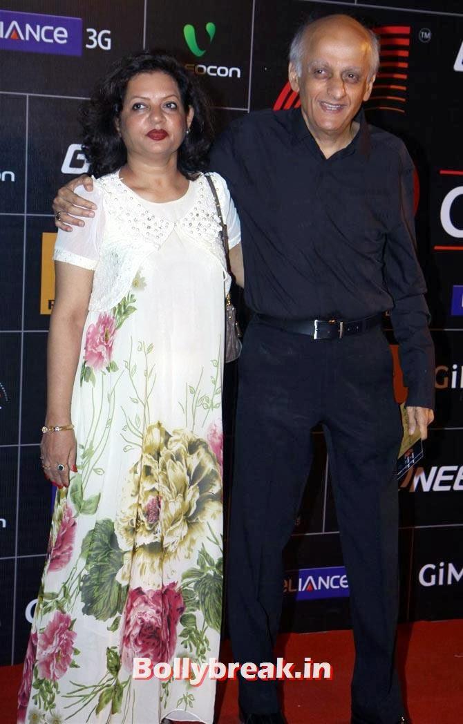 Mukesh Bhatt with Nilima