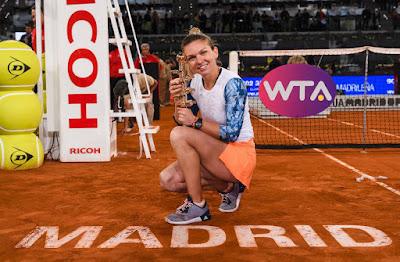 Simona Halep, tenisz, WTA, Krisztina Mladenovics, Madrid, Mutua Madrid Open