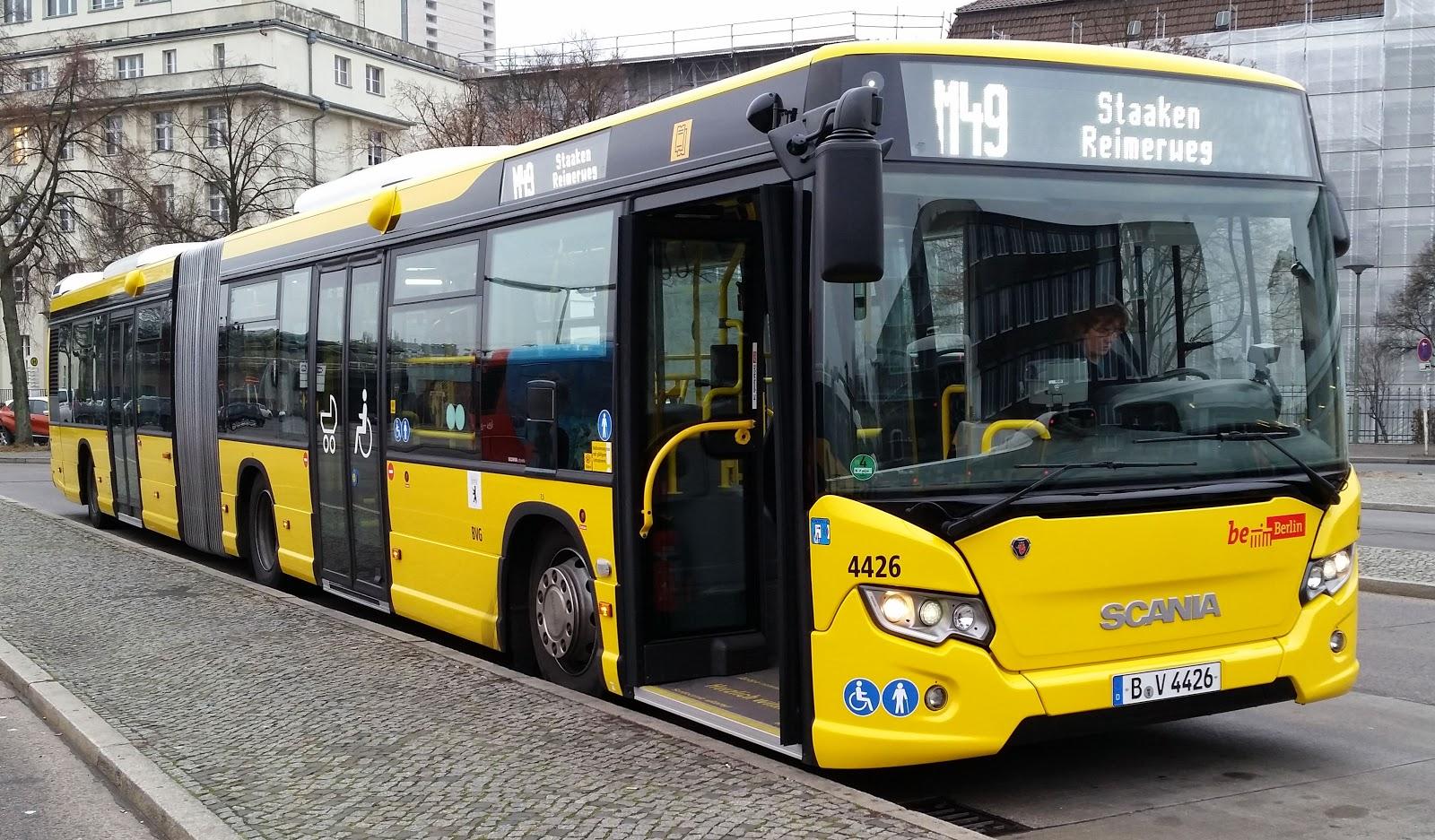 Bus + Straßenverkehr: BVG Busse mit Druckluft betriebenen ...