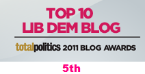 Total Politics 2011 Blog Awards