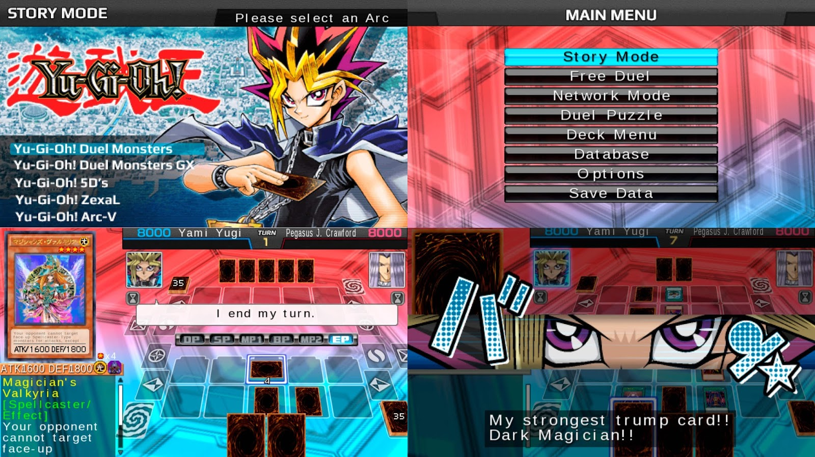 Yu-Gi-Oh! ARC-V Tag Force Special English Patched PSP
