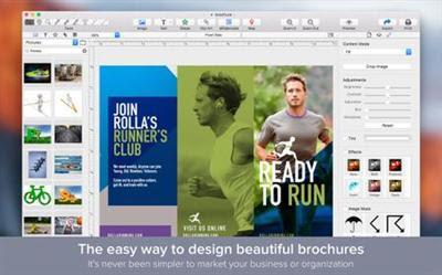 Brochure Maker 1.1.0 Multilingual (Mac OS X)