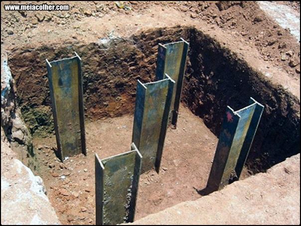 Estacas Metálicas de fundação