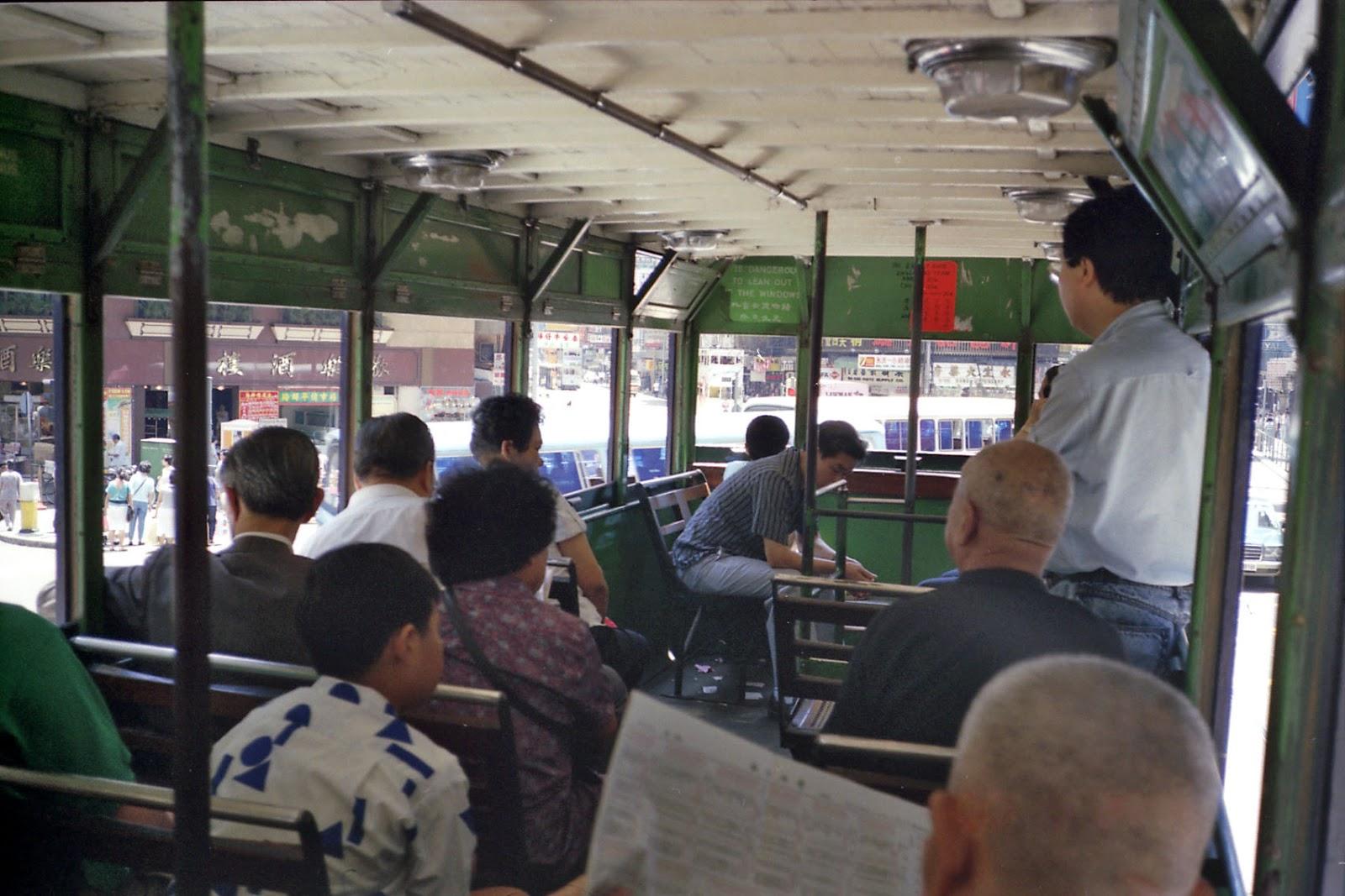 バス車内,香港〈著作権フリー無料画像〉Free Stock Photos