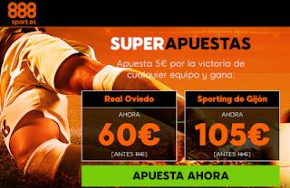 888sport superapuestas Oviedo vs Sporting 17 noviembre