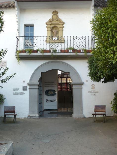 entrata del museo Fran Daurel