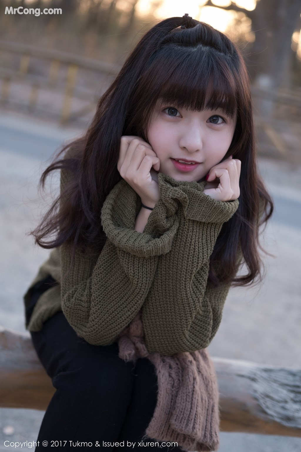 Image Tukmo-Vol.105-Qiu-Qiu-MrCong.com-009 in post Tukmo Vol.105: Người mẫu Qiu Qiu (球球) (41 ảnh)