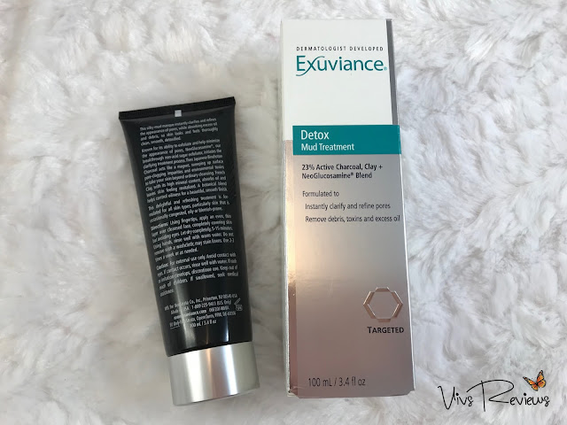 Exuviance Detox Mud Treatment ingredients