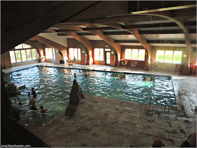 Trapp Family Lodge: Piscina Cubierta