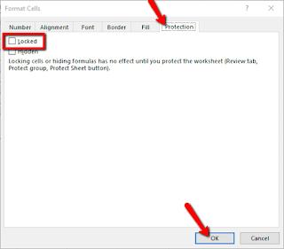 Cara Memprotek Sel dengan Password pada Microsoft Excel