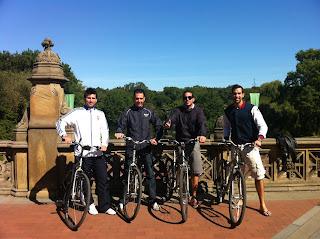 Central Park visto en bicicleta