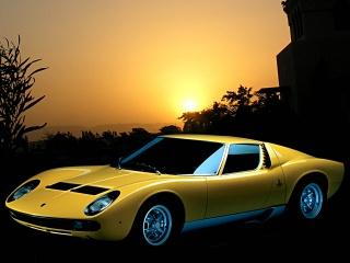 Hd Car Wallpapers Lamborghini Miura Wallpaper