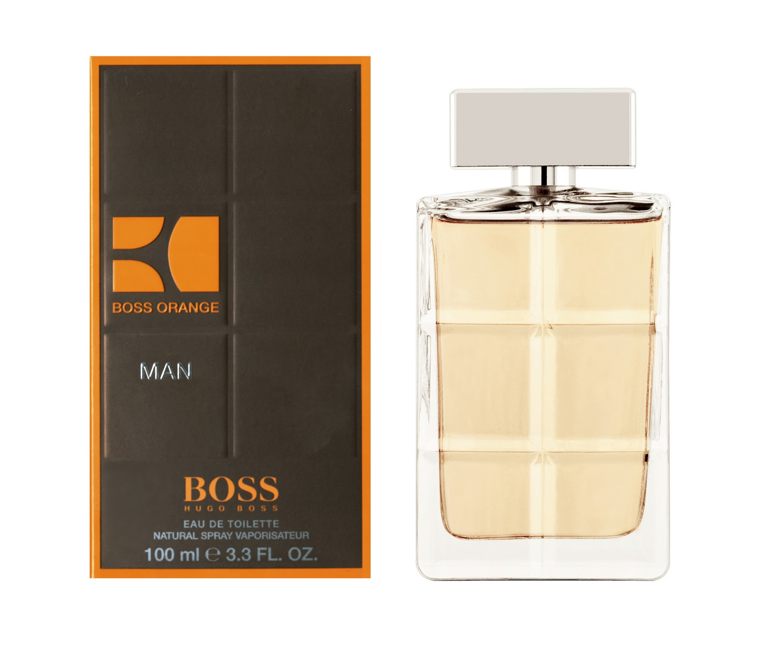 New Boss Orange Man By Hugo Boss Perfume Full Size Retail