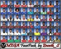 MEGA Face Pack - PES 2017