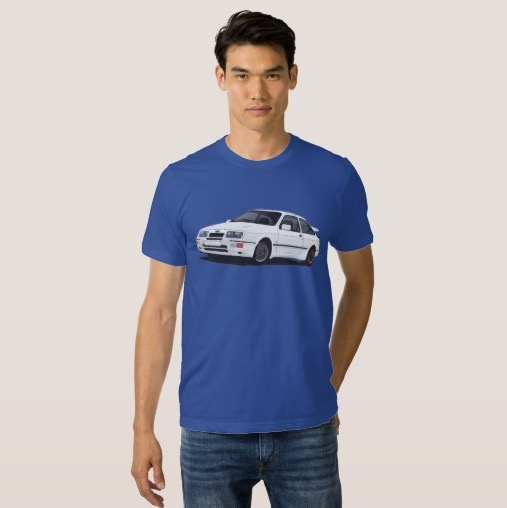 Ford Sierra RS Cowsorth  print t-shirt