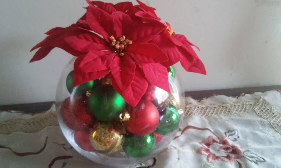 Fachalina centro de mesa navide o - Centro de mesa navideno manualidades ...