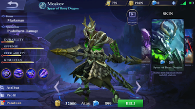 Moskov Spear of Bone Dragon