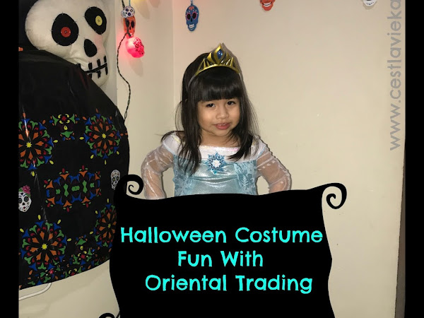 Halloween Costume Fun With Oriental Trading