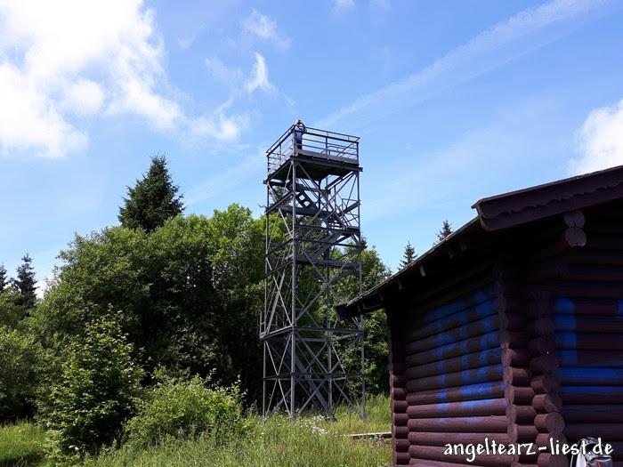 Aussichtsturm auf dem Schalke im Harz