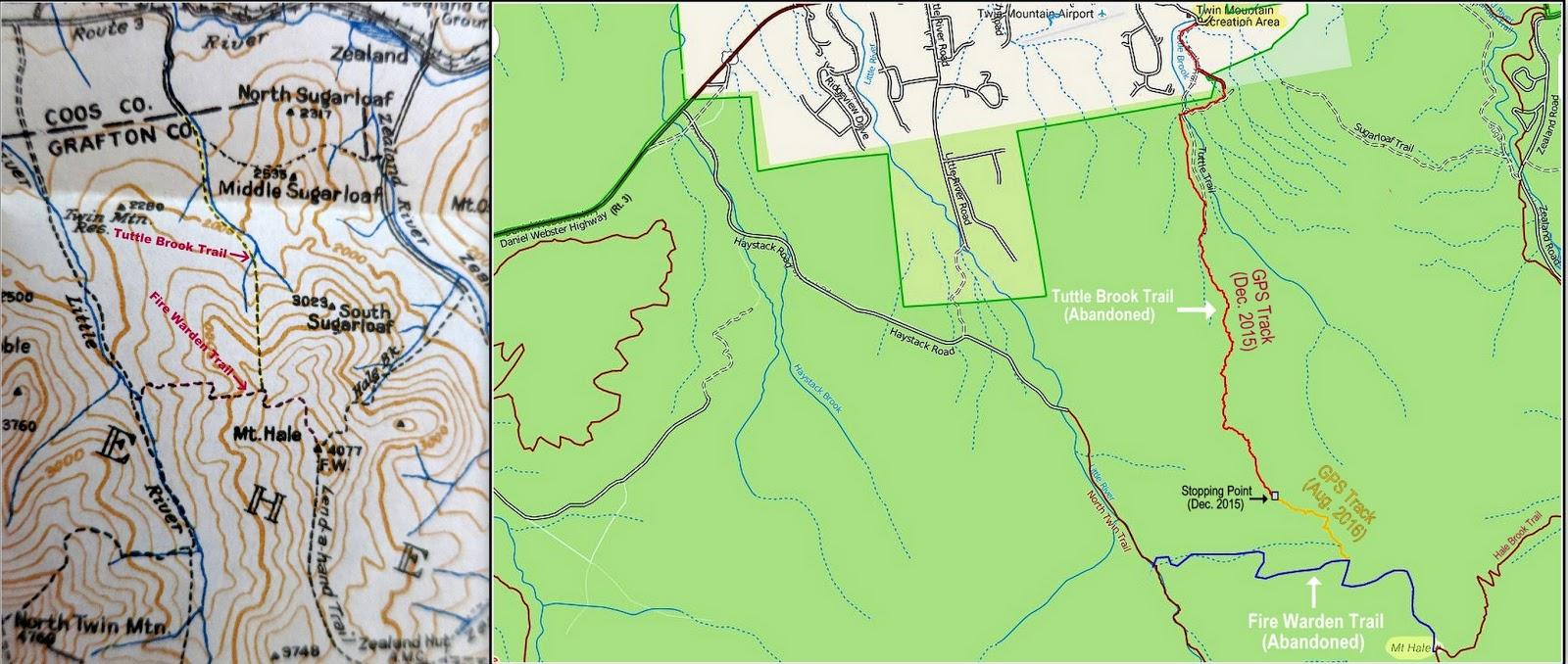 Unfinished Mt Hale NH 4000