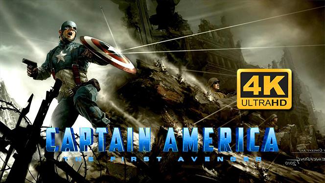Capitán América El primer vengador (2011) 4K UHD 2160p Latino-Castellano-Ingles