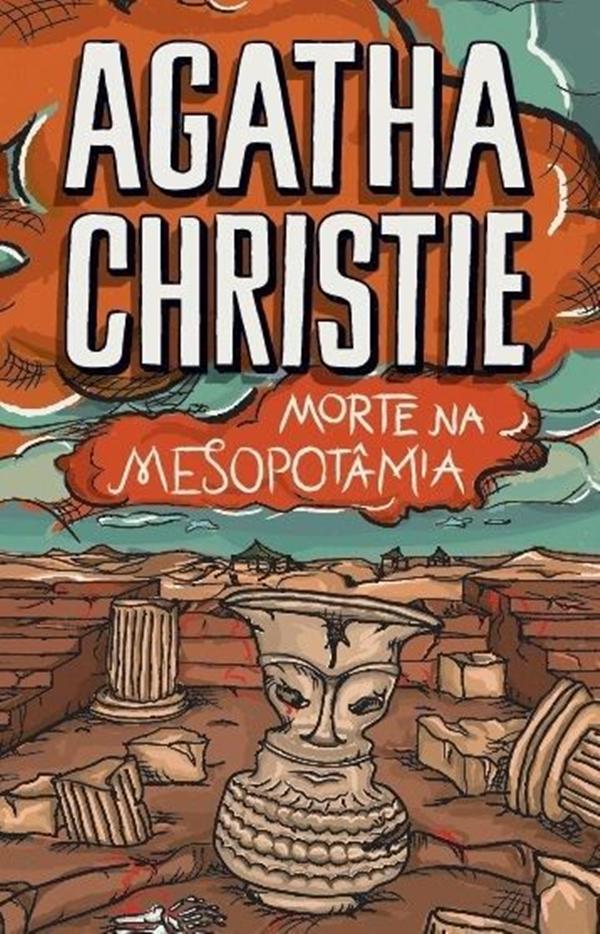 Livro Morte na Mesopotâmia Agatha Christie resenha