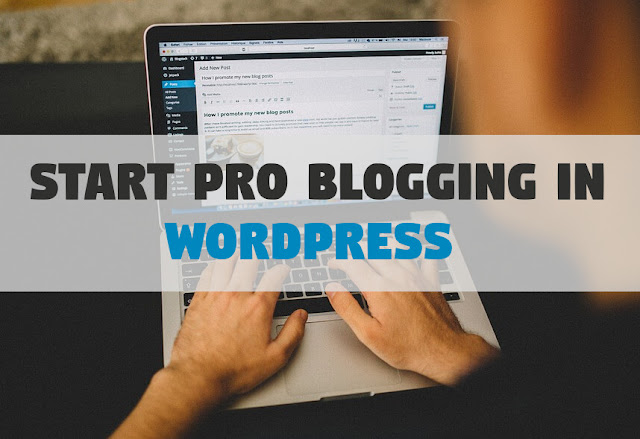 Start Pro Blogging 2019 in WordPress Platform [Minimal Cost]