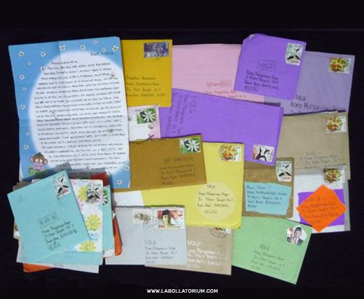 Surat Menyurat Sahabat Pena - Blast From The Past - Postal Stuffs Filateli