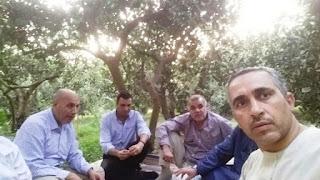 Teachers meeting under the tree , اجتماع المعلمين تحت الشجرة , Les enseignants se rencontrent sous l'arbre, الحسينى محمد , الخوجة , ادارة بركة السبع التعليمية , المعلمين