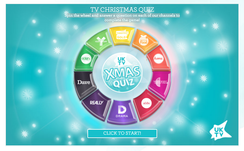 Mummy's Space: UKTV Fun Festive Quiz