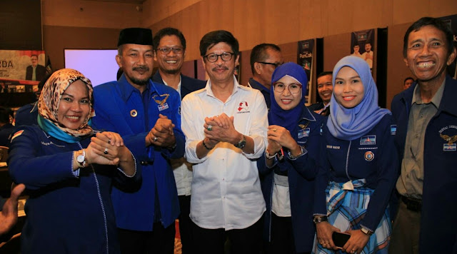 Di Depan Pengurus Demokrat se-Sulsel, Ni'matullah Sampaikan Pesan SBY ke IYL-Cakka