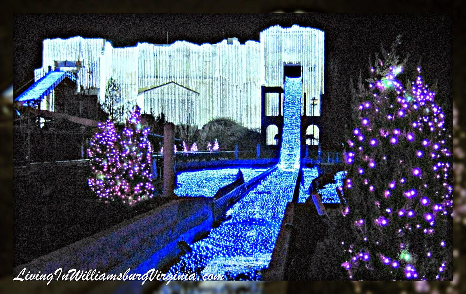 Williamsburg Christmas Town Busch Gardens.Living In Williamsburg Virginia Christmas Town Busch