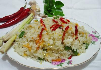 Resepi Nasi Goreng Serai Yang Segar