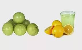 amla and lemon juice home remedy for hair fall