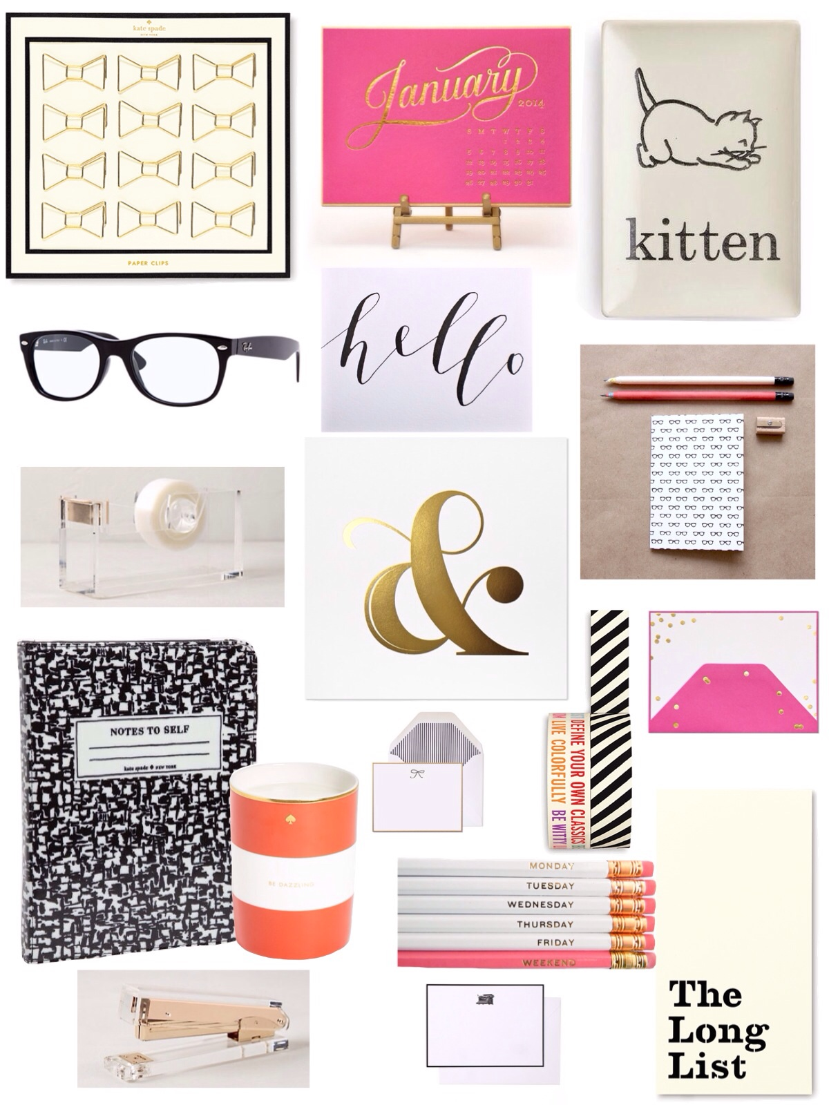 Avery Street Design Blog Shopping Foroffice Accessories