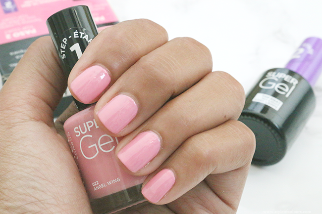 Rimmel Super Gel Review and Swatches