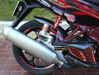 Sơn Carbon xe máy cực đẹp và độc đáo