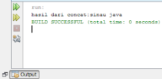 Method concat() sebagai Alternatif Operator + di Java