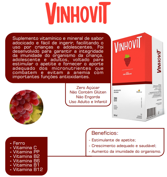 Vinhovit 500ml