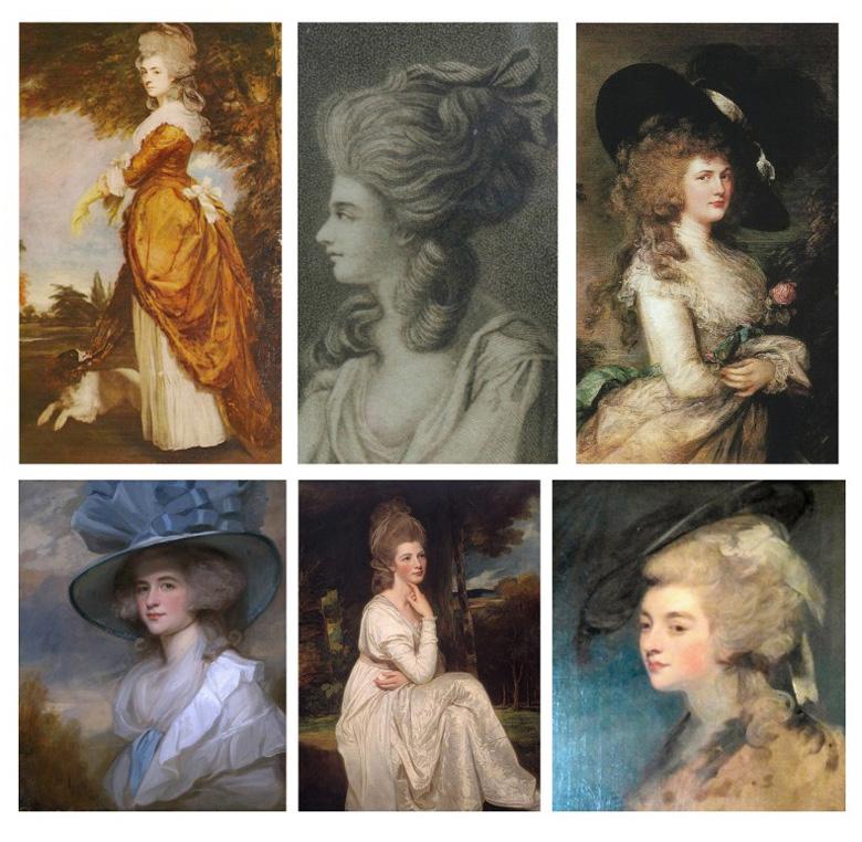 """Ambientación y estilismo de la película """"La Duquesa"""", Georgiana Cavendish, Duquesa de Devonshire"""